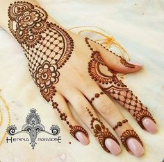 Henna Tattoo Designs Images - 100 Wedding Henna Designs on Hand for Brides. this is the best henna tattoo images collection with various pattern Henna Hand Designs, Eid Mehndi Designs, Mehandi Design For Hand, Mehndi Designs Finger, Wedding Henna Designs, Modern Mehndi Designs, Mehndi Design Pictures, Mehndi Designs For Fingers, Hand Mehndi