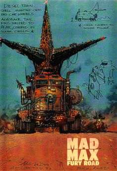 Mad Max Fury Road Concept Art