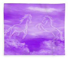 Spirit Horses Fleece Blanket x by Faye Anastasopoulou. Our luxuriously soft throw blankets are available in two different sizes and feature incredible artwork on the top surface. The bottom surface is white. Fleece Blankets, Blankets For Sale, Thing 1, Pattern Pictures, Equine Art, Artist At Work, Wood Print, Colorful Backgrounds