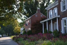 Charming homes in Augusta, Kentucky.