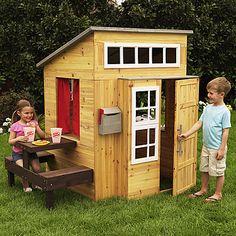 Ein eigenes Spielhaus für den Nachwuchs