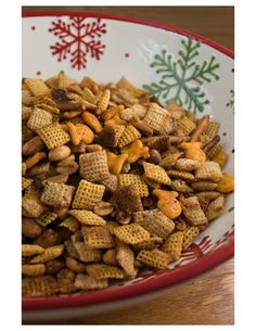 This Chex Mix is the best I've ever had! I hope you enjoy it.