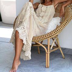 Hawaiian Fashion, Finger Crochet, Crochet Hoodie, Crochet Lace, Crochet Edgings, Crochet Dresses, Dress Picture, Crochet Fashion, Fashion Details