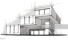Architecture design concept examples apps for pc architectural hand drawings vs digital renderings rando skethc Architecture Design Concept, Architecture Blueprints, Architecture Graphics, Facade Architecture, Architecture Sketches, Computer Architecture, Architecture Definition, Architecture Awards, Japanese Architecture