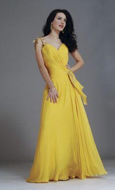 Yellow Wedding Dress www.volt-in.com