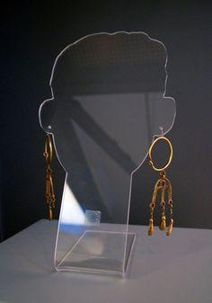 Orecchini d'oro da N.S. di Mesumundu, Siligo (SS). VII-VIII secolo d.C.