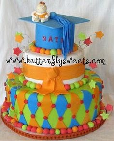 Graduation cake by Butterfly Sweets