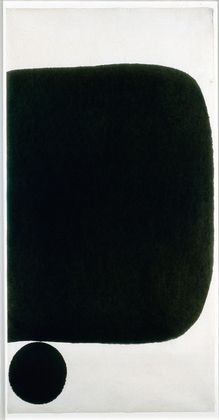"James Lee Byars  ""Untitled""  Ink on Japanese paper  1959"