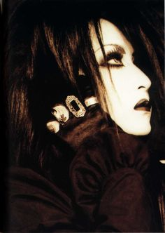 Mana - Malice Mizer    I was never a big fan but he does stand out :)