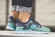 ASICS have channelled a spritely little bird into their upcoming GEL-Lyte V 'Kingfisher', taking avian inspiration for its brilliant blue.