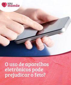 O uso de aparelhos eletrônicos pode prejudicar o feto?   #Pesquisas sobre os raios #eletromagnéticos e a relação disso com #fetos e a gestação estão sendo feitas, mas até agora não há um resultado claro. #Gestação