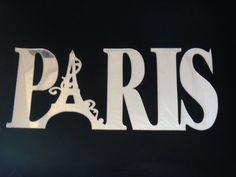 Paris Laser Cut Acrylic Mirror Wall Decor by LaserWorksStudio, $20.00