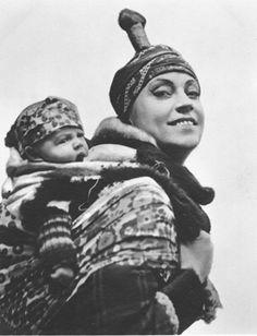 1916 Asta Nielsen in Das Eskimobaby