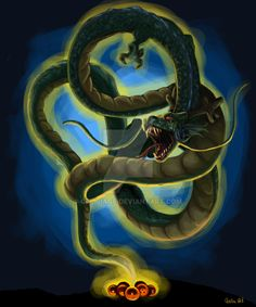 Shenlong by CeciliaGf