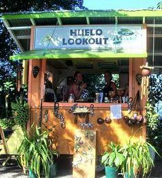 Huelo Lookout, Maui, HI... best smoothies!