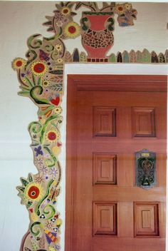 over the door mosaic