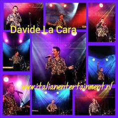 Davide La Cara - te boeken via www.italianentertainment.nl Web Instagram User » Followgram
