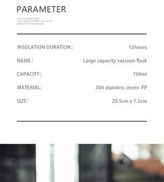 750ml large capacity stainless steel thermos portable vacuum with rope – Creationsg Portable Vacuum, Stainless Steel Thermos, Vacuum Flask, Facebook Sign Up, Water Bottle, Water Bottles
