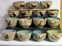 Image pottery yarn bowl hosted in Life Trends 1 Ceramic Bowls, Ceramic Pottery, Ceramic Art, Ceramics Projects, Clay Projects, Crochet Yarn, Knitting Yarn, Biscuit, Yarn Bowl