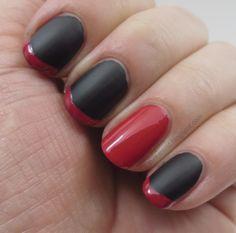 mattenailpolish | Red Matte Nail Polish
