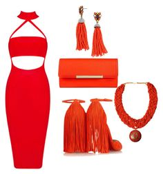 amnia by amniaali on Polyvore featuring Christian Louboutin, Merona, BaubleBar and Urbiana