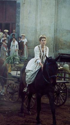 Vittoria Puccini as Elisa Scalzi, Italian tv series Elisa Di rivombrosa