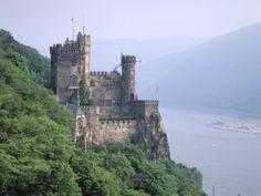 Burg Rheinstein, Rhine Valley, Germany Photographic Print by Walter Bibikow at AllPosters.com