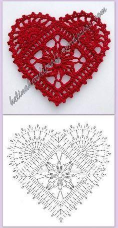 Crochet Diagram, Crochet Chart, Thread Crochet, Crochet Stitches, Crochet Doilies, Applique Stitches, Crochet Owls, Crochet Granny, Knit Crochet