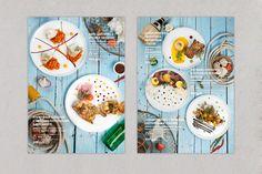 Menu restaurant on Behance Menu Restaurant Design, Cafe Menu Design, Food Menu Design, Restaurant Branding, Seafood Restaurant, Chinese Menu, Brochure Food, Menu Layout, Menu Book