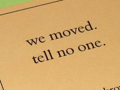 13 unique moving announcements diy pinterest moving