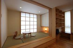 Japanese Living Rooms, Japanese House, Meditation Corner, Japanese Interior Design, Interior Garden, New Home Designs, Minimalist Home, Modern House Design, Architecture Design