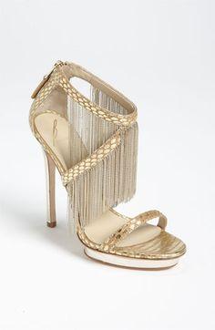 B Brian Atwood 'Cassiane' High Sandal #NordstromWeddings