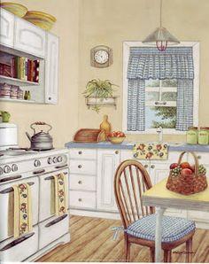 Cozy Kitchen ~ Kay Lamb Shannon