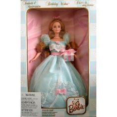 Birthday Wishes Barbie Collector's Ed 2nd in Series 1999 Edit item   Reserve item  $44.56