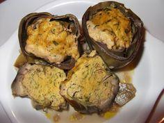Anghinare umplută Cauliflower, Muffin, Vegetables, Breakfast, Food, Cauliflowers, Meal, Eten, Vegetable Recipes
