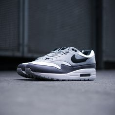 best website e5e9c 7846c The Nike Air Max 1 is now available in a versatile white black grey  colorway on KICKZ.com and in selected stores!