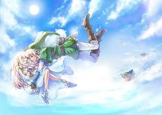 Zelda & Link from Skyward Sword - 2012/05 japanese fan work