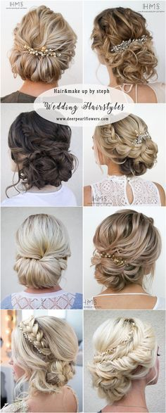 Hairandmakeupbysteph wedding updo hairstyles