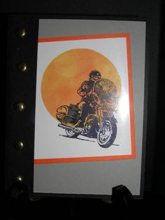 Born To Ride by Lilliann - Cards and Paper Crafts at Splitcoaststampers