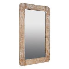 Mirror (110 x 3 x 75 cm) Mindi wood