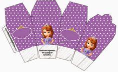 Cajas de Princesa Sofía para Imprimir Gratis.