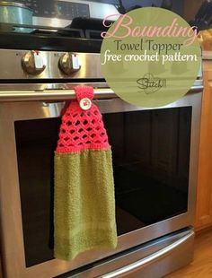 While searching for Towel Topper crochet patterns, I realized there really isn't that much of a variety to choose from. In order to complete my latest crochet order, I knew I would have to write at le