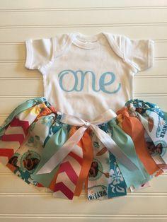 ea354db538c6 Items similar to Moana Birthday Outfit - Moana costume skirt - Moana Fabric  tutu - Disney tutu - Moana Skirt - Disney Moana Outfit - Girl Birthday  Outfit on ...