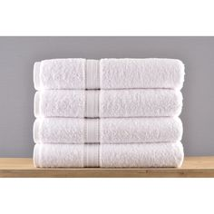 36 new 16x27 white hotel hampton hand towels hotel spa resort cotton blend **