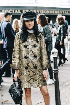 PARIS FASHION WEEK STREET STYLE #7