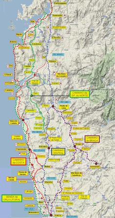 great camino portugues resource! downloadable maps and info: