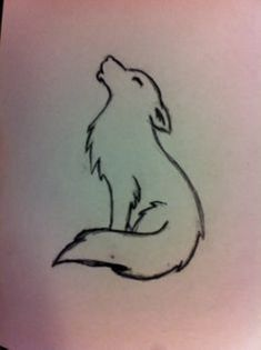 "Image search result for ""minimalist wolf tattoo… – – diy best tattoo images diy tattoo – diy best tattoo images – Image search result for minimalist wolf tattoo Cute Easy Drawings, Cool Art Drawings, Pencil Art Drawings, Art Drawings Sketches, Simple Animal Drawings, Cute Wolf Drawings, Tatuagem Diy, Wolf Sketch, Diy Tattoo"