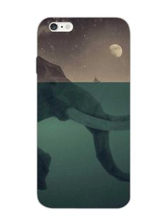 Elephant in Water - Designer Mobile Phone Case Cover for Apple iPhone 6 plus