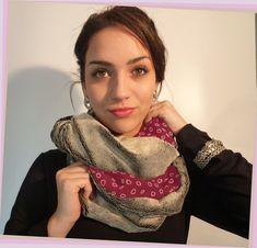 53 meilleures images du tableau foulard   Scarves, Cowls et Sewing ... b30d7ab8a3f