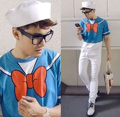 DONALD DUCK SHIRT (by KIKO CAGAYAT)